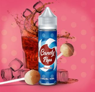 E-liquide Fresh Cola 60ml de Candy Pops